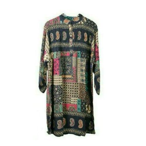 ชุดเดรสนำสมัย แบรนด์ Sofia Collection ขนาดฟรีไซด์ อกกว้าง 40 นิ้ว ยาวเสื้อ 40 นิ้ว รอบตัว 50 นิ้ว