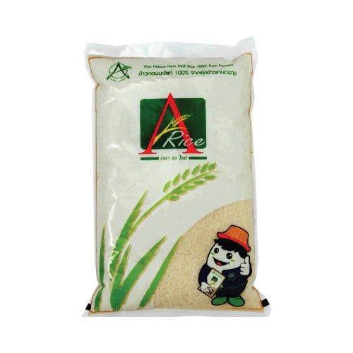 ข้าวสารหอมมะลิ ตรา A-rice (บรรจุถุงละ 5 กก. ) 1 ชุด 10 ถุง