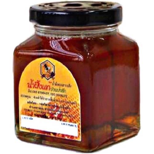 น้ำผึ้งแท้บ้านป่าสัก (น้ำผึ้งดอกสาบเสือ) (ขวดแก้ว)