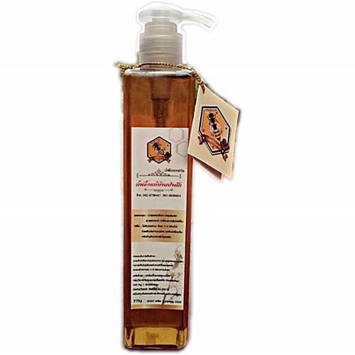 น้ำผึ้งแท้บ้านป่าสัก (น้ำผึ้งดอกสาบเสือ) (ขวดปั๊ม)