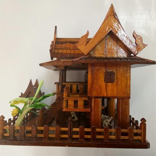 กระปุกออมสินบ้านทรงไทย เก็บออมเงิน เป็นของฝากของที่ระลึก