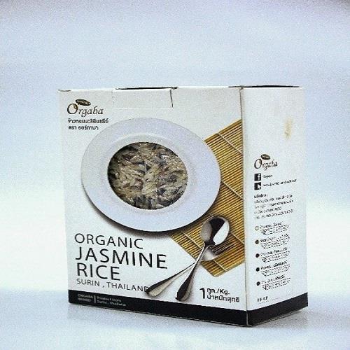 ข้าวหอมมะลิอินทรีย์ Organic Jasmine Rice ( 1กก)