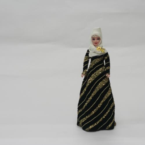 ตุ๊กตามุสลิม ตุ๊กตาตั้งโชว์ สินค้าโอทอป (แบบที่ 4)