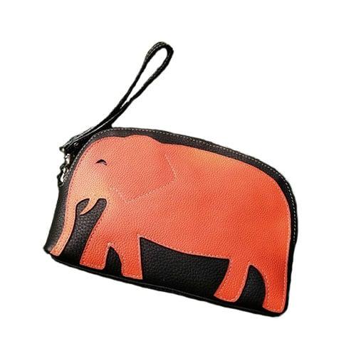 กระเป๋าใส่เครื่องสำอางค์ ทำจากหนังวัวแท้ รุ่นรักษ์