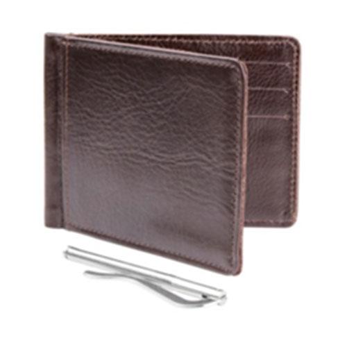กระเป๋าหนีบธนบัตร หนังแท้ รุ่น Clip Me In (1 ใบ)