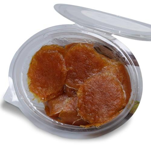 มะม่วงกวน สวนเนรัญชลา รสชาติเปรี้ยวหวาน (กล่องใส) 430  กรัม
