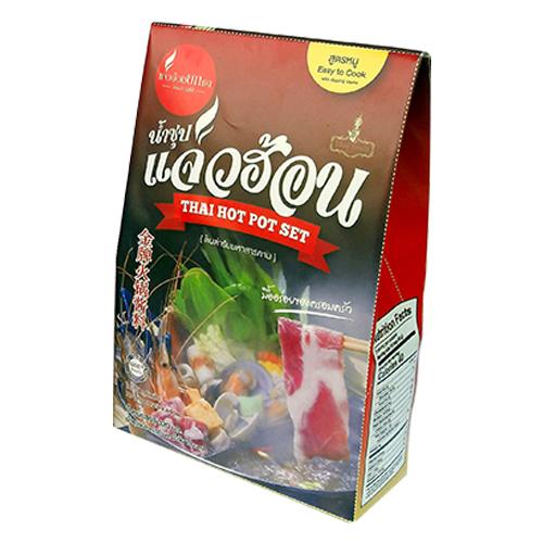 น้ำซุปแจ่วฮ้อน สูตรหมู  (1 ชุด 2 น้ำซุป 2 น้ำจิ้ม)