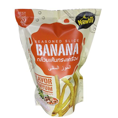 กล้วยเส้นปรุงรสต้มยำ  (4ถุง/ชุด)