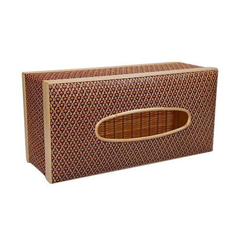กล่องทิชชู พิกุล (สีแดง)