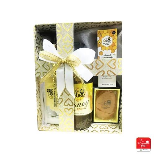 Gift set ผลิตภัณฑ์แปรรูปจากน้ำผึ้ง (รวม 4 ชิ้น) ต.บ้านกร่าง
