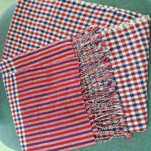 ผ้าพันคอ ทอมือ จังหวัดขอนแก่น