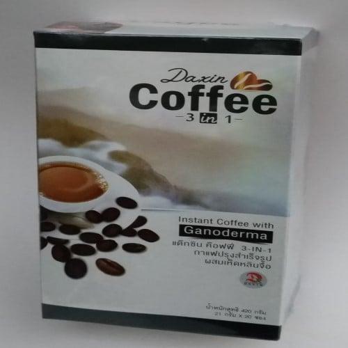 กาแฟปรุงสำเร็จ ผสมเห็ดหลินจือ กาแฟเพื่อสุขภาพ จ.ลำปาง