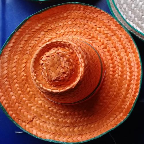 หมวกไม้ไผ่ ( 1 ชุด มี 5 ใบ)