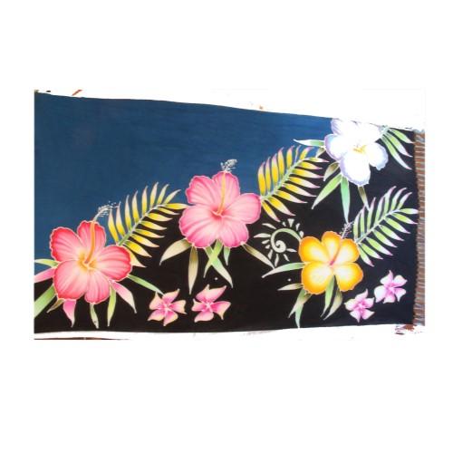 ผ้าลันตาบาติก(ผ้าคลุมตัว ขนาด 1x2 เมตร) อ.เกาะลันตา จ.กระบี่