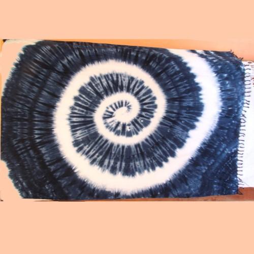 ผ้ามัดย้อมลันตาบาติก (ผ้าคลุมตัวขนาด 1 x 1.6 เมตร) อ.เกาะลันตา จ.กระบี่