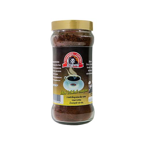 กาแฟถ้ำสิงห์ ชนิดเกล็ด ขนาด120กรัม  (3ขวด)