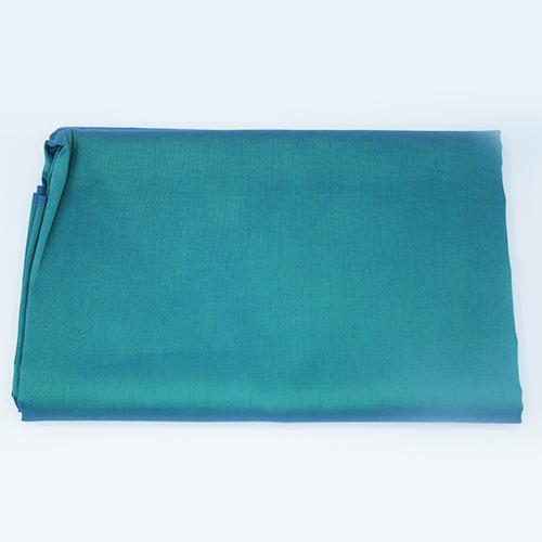 ผ้าไหมทอมือ บ้านเขว้า สีเขียวหัวเป็ด(นรินทร์ไหมไทย)