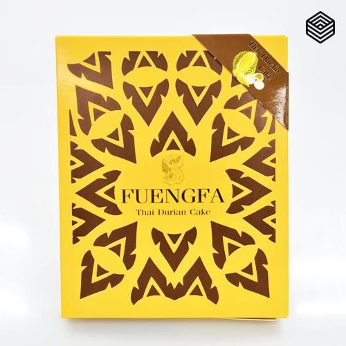 ขนมเปี๊ยะ FUENGFAไส้ทุเรียนหมอนทองจำนวน 50 กล่องลัง