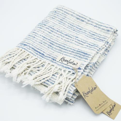 ผ้าพันคอเข็นมือ CC-0001 ร้านครามสกล