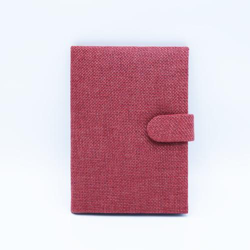 กระเป๋าพาสปอร์ต สีแดง มีหู