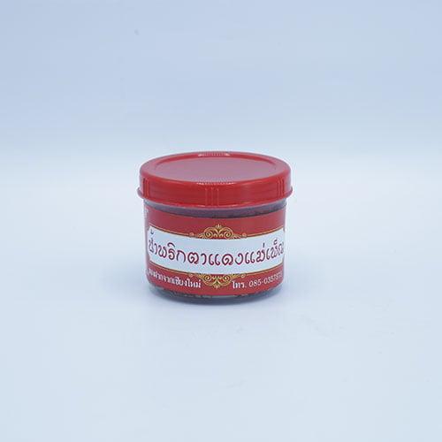 น้ำพริกตาแดง 6 กระปุก