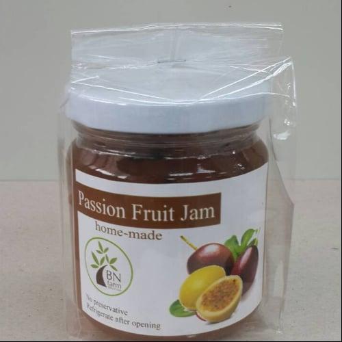 แยมเสารส (passion fruit) ไม่ใส่สารกันบูด บรรจุ 200 กรัม