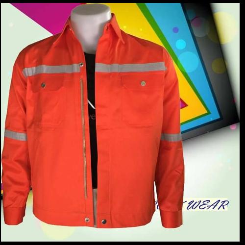 เสื้อ shop สีส้ม ติดแถบ (size S)