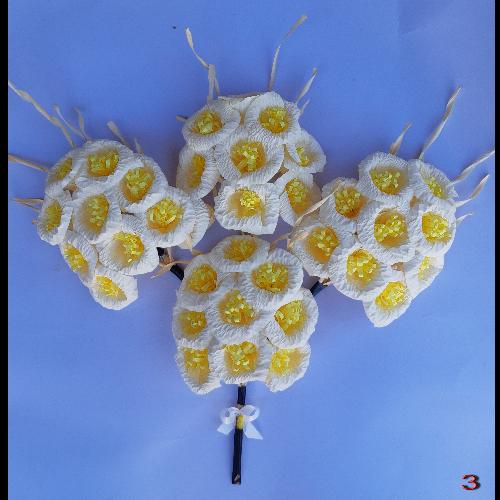 ดอกไม้จันทน์ (ประธาน) ชุด 9 ดอก