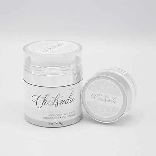 ฉัตรสุดา เดอ อัมพวา Aura clear face serum ( 1ชิ้น)