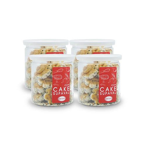 คุ้กกี้สิงคโปร์ (150 กรัม) 4 กระป๋อง บ้านขนมศุภวัลย์