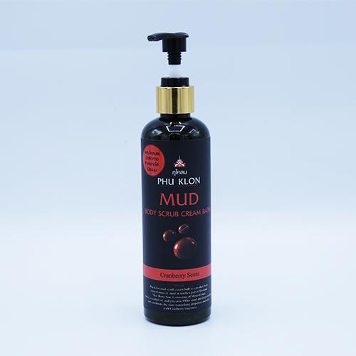 ครีมอาบน้ำ ทำความสะอาดผิวกาย ภูโคลน สูตร CRANBERRY SCENT 250 กรัม