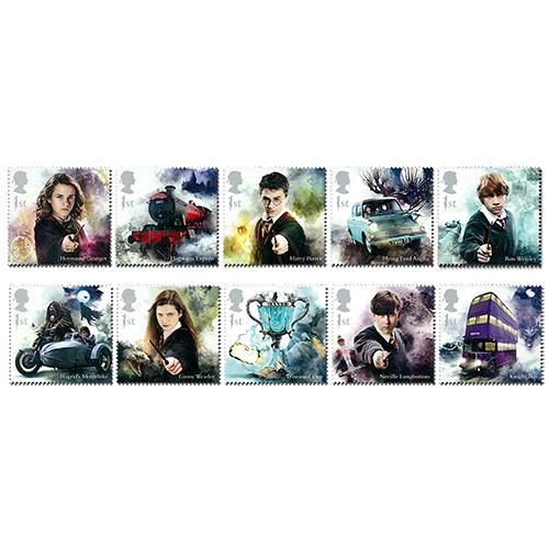 Harry Potter Stamps Set