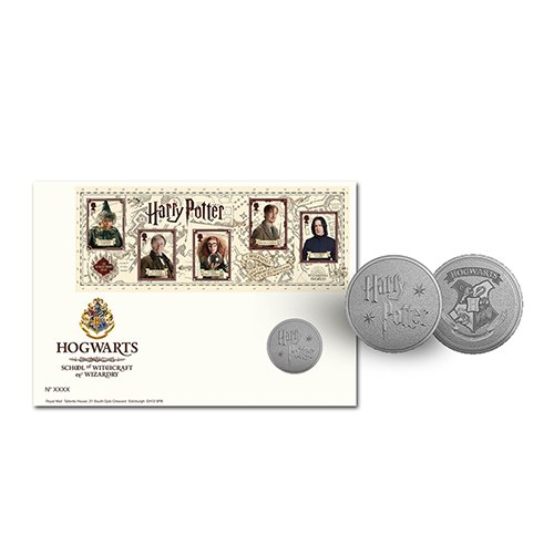 Harry Potter Limited Edition Hogwarts Medal Cover