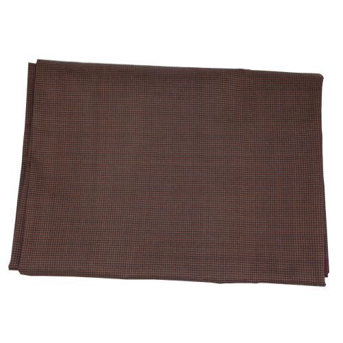 ผ้าไหม ลายสมอ สีน้ำตาลดำ ขนาด 1X2 เมตร