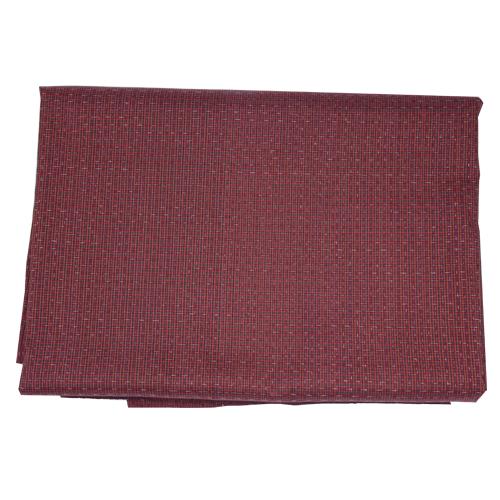 ผ้าไหม ลายอัมปรม สีแดง ขนาด 1X2 เมตร