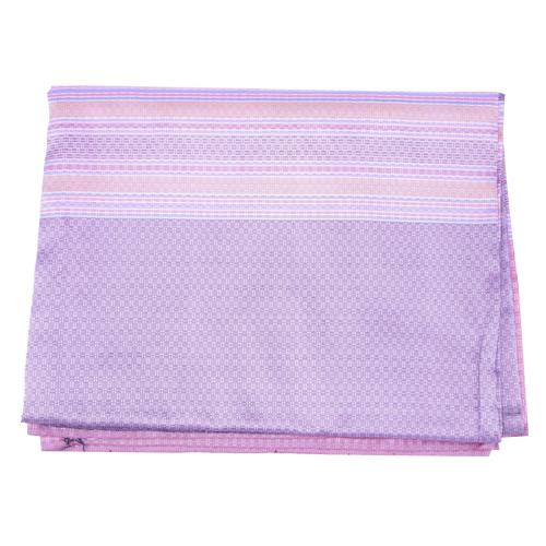 ผ้าไหม ลายพริกไทย สีโอรส ขนาด 1X2 เมตร