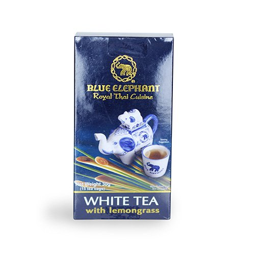 ชาขาวผสมตะไคร้ 30 กรัม จำนวน 1 กล่อง