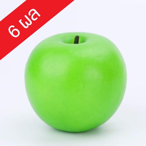แอปเปิ้ลเขียวประดิษฐ์ (F35) จำนวน 6 ผล