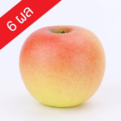 แอปเปิ้ลแดงประดิษฐ์ (F36) จำนวน 6 ผล