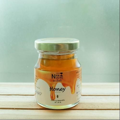 น้ำผึ้งแท้จากเกสรดอกลำไย ตรา น้ำหนึ่ง (ขวดละ100 กรัมจำนวน 5 ขวด)
