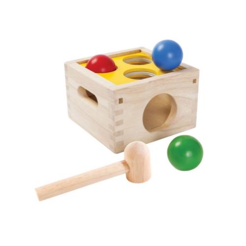 ของเล่นเด็ก กล่องตอกลูกกลม (PUNCH & DROP)