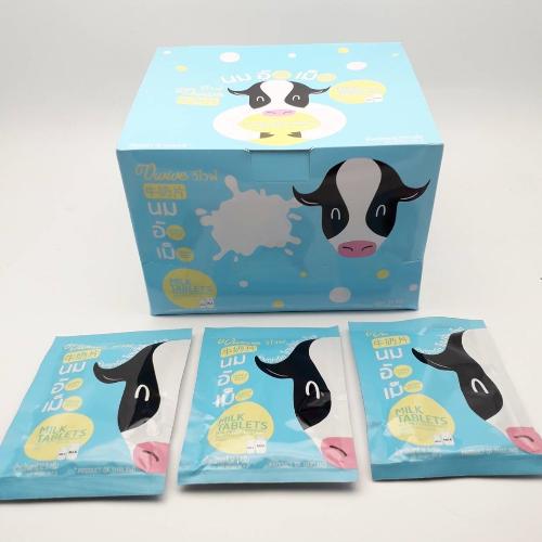 นมอัดเม็ดซองละ 12.5 กรัม จำนวน 1 กล่อง (30 ซอง)
