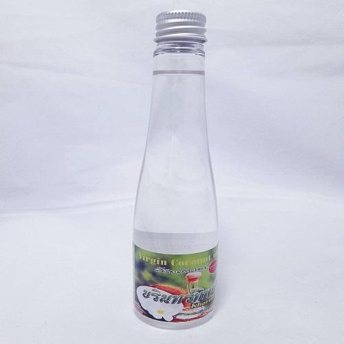 น้ำมันมะพร้าวสกัดเย็นบริสุทธิ์ 100% ขนาด 100ml.(2 ขวด)