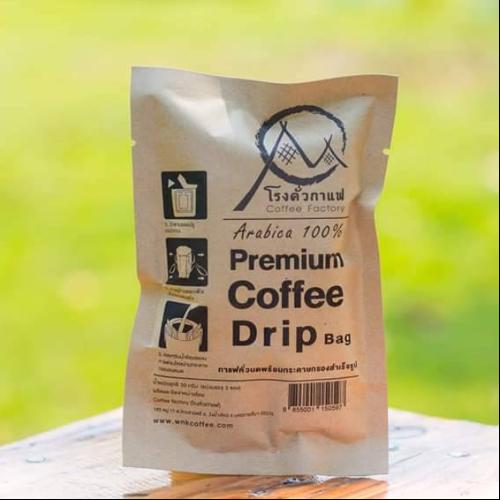 กาแฟดริปชนิดผง Premium Arabica Drip Coffee 30 g.