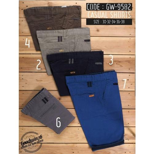 กางเกงขาสั้นทรงชิโน่ผ้า cotton 100%