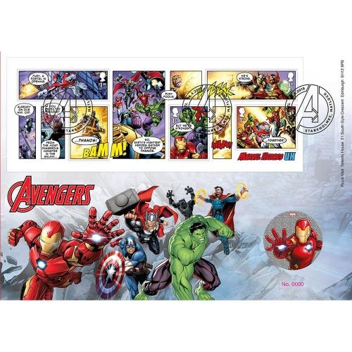 MARVEL : Iron Man Medal Cover