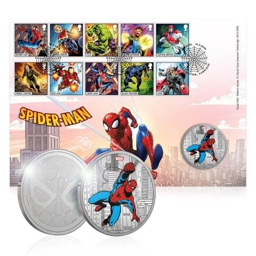 MARVEL : Spider - Man Medal Cover