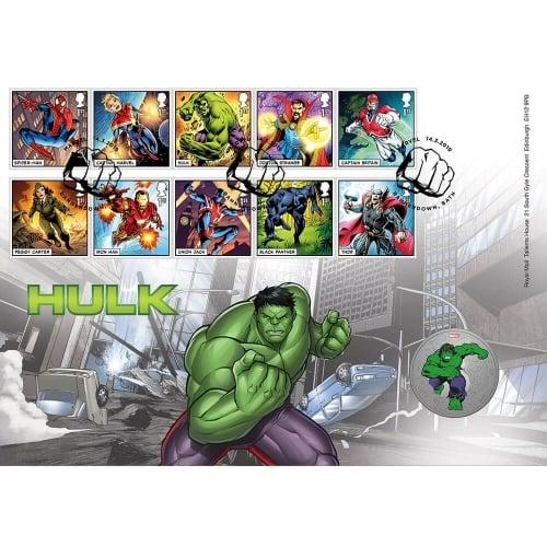 MARVEL : Hulk Medal Cover