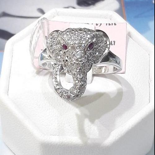 แหวนเงินช้าง