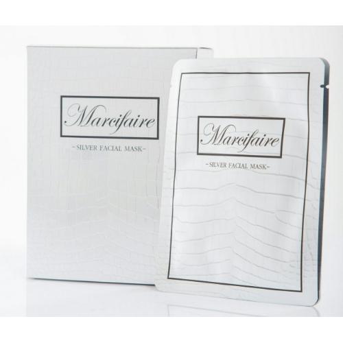 มาส์คหน้าสีเงินmarcifaire - 1 กล่อง 10 ซอง